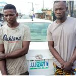Photo Of Robbers Terrorising Lekki-Ajah Who Were Nabbed The Day After Stealing Car, Money