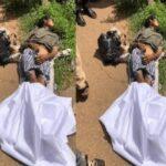 Yahoo Boys Dump Lady's Body On Akure Road (Disturbing Pictures)