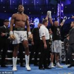 Photos & Video: Anthony Joshua Reacts To His Defeat By Oleksandr Usyk