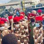 PHOTOS: Crowd as Buhari commissions projects in Imo
