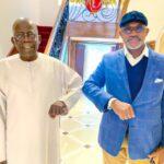 Photos: Governor Abiodun Visits Tinubu In London