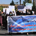 Fearless Afghan Women Stage Protest In Kabul For Women's Rights Despite Heavy Taliban Presence (Photos)