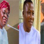 Igboho, Nnamdi Kanu unserious people – Gov. Oyetola