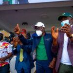 I Jumped Off My Seat During Nigeria vs Liberia Match – Sanwo-Olu Reacts To Super Eagles Victory