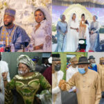 Goodluck Jonathan, Ahmed Lawan, Dino Melaye, Others Storm Wedding Reception Of Gov. Mohammed's Daughter (Photos)
