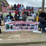 Yoruba Nation Agitators Protest Alongside UK Labour Party Leaders, Including Parliament Member, Jeremy Corbyn (Photos)