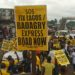 Residents, students protest against deplorable Lagos-Badagry expressway
